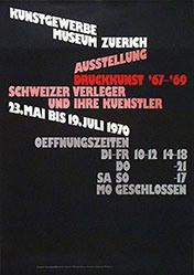Bosshard Hans Rudolf - Druckkunst