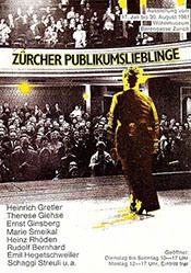 Anonym - Zürcher Publikumslieblinge