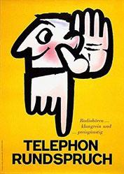 Leuthold Albert - Telephon Rundspruch