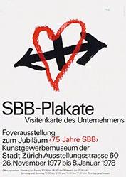 Leupin Herbert - SBB-Plakate