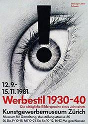 Staehelin Georg - Werbestil 1930-40
