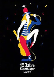 Troxler Niklaus - 15 Jahre Kleintheater Luzern