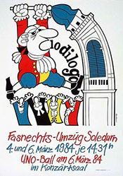Henzi Peter - Fasnechts-Umzüg Soledurn