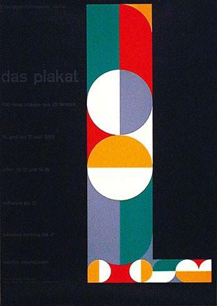 Honegger-Lavater Gottfried - Das Plakat