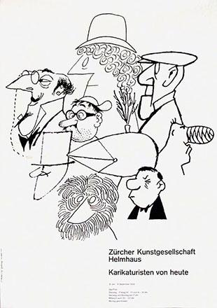 Schaad Hans P. - Karikaturen von heute