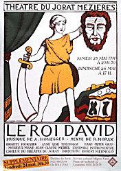 Morax Jean (d'aprés) - Le roi David