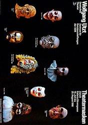 Petzak Hans-Joachim - Theatermasken