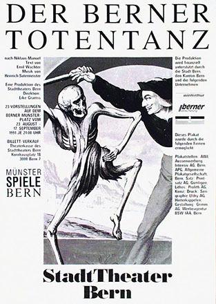 Grimm Albert - Der Berner Totentanz