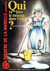 Bur Iris - Qui va faire le ménage dans l'étable?
