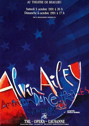 Pichou Dominique - Alvin Ailey - American dance theater