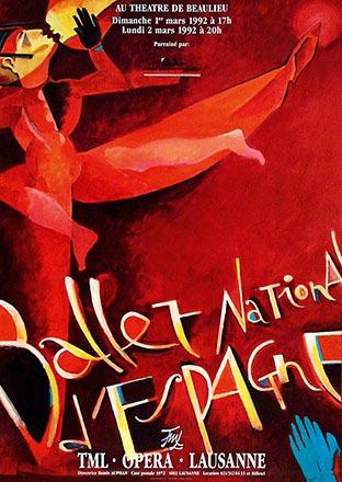Pichou Dominique - Ballet National d'Espagne