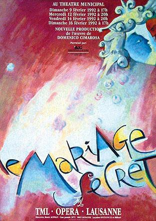 Pichou Dominique - Le mariage secret - Domenico Cimarosa