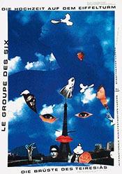 Geissbühler Karl Domenic - Die Hochzeit auf dem Eifelturm