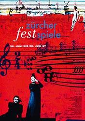 Geissbühler Domenic K./Baer Susanna - Zürcher Festspiele