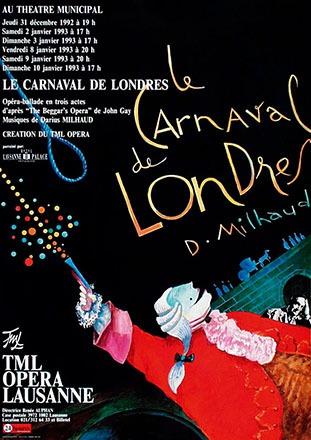 Pichou Dominique - Le Carneval de Londres - Darius Milhaud