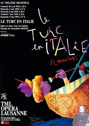 Pichou Dominique - Le Turc en Italie - Gioachino Rossini
