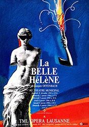 Pichou Dominique - La belle Hélène - Jacques Offenbach
