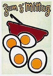 Schuhmacher E. - Zum z'Mittag - Ei