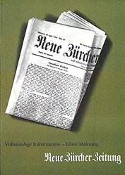 Anonym - Neue Zürcher Zeitung