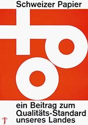 Schutzbach A. - Schweizer Papier