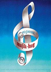Pfister Oskar - 150 Jahre Musik Hug