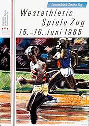 Haettenschweiler Walter F. - Westathletic Spiele Zug