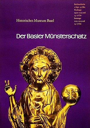 Bühler Fritz - Basler Münsterschatz