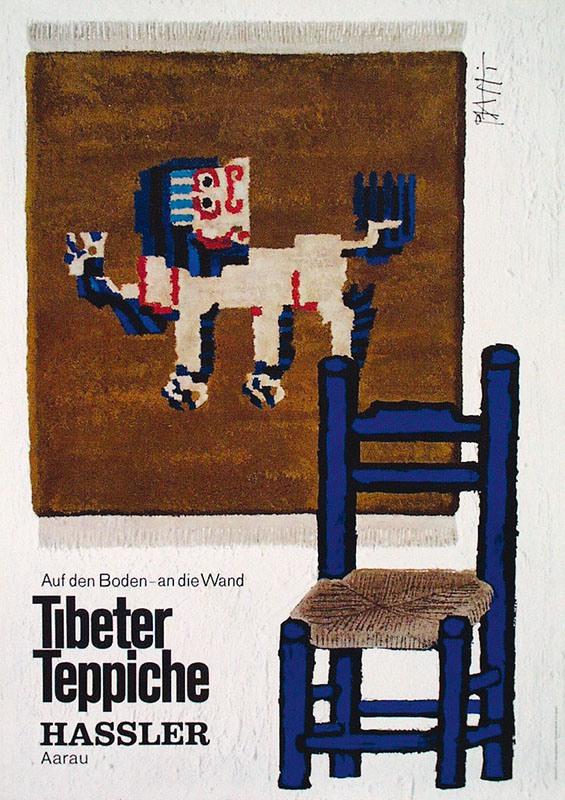 Piatti Celestino  Tibeter Teppiche