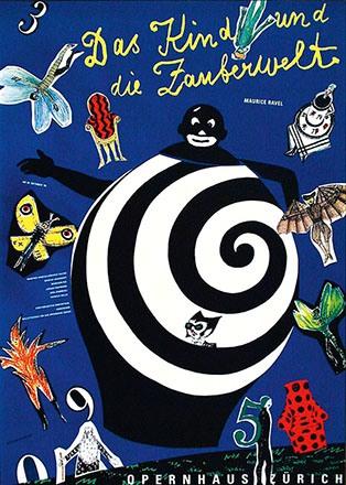 Geissbühler Karl Domenic - Das Kind und die Zauberwelt