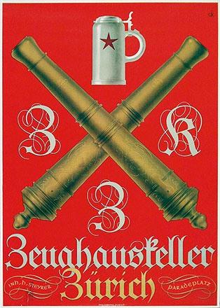 Monogramm K.W. - Zeughauskeller Zürich