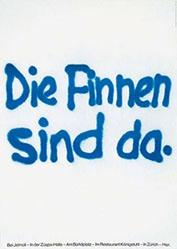 Schnyder Franz Werbeagentur - Die Finnen sind da
