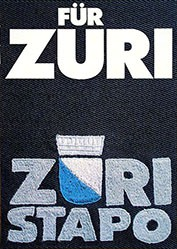 Anonym - Für Züri - Züri Stapo