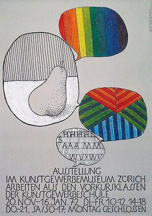 Uhlmann Fredi - Arbeiten aus den Vorkursklassen