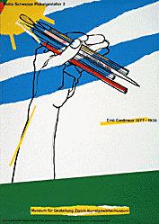 Brühwiler Paul - Emil Cardinaux - Reihe Schweizer Plakatgestalter