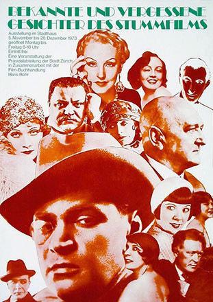 Anonym - Gesichter des Stummfilms