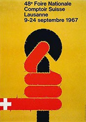 Junod Jean Paul - Comptoir Suisse Lausanne