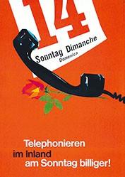 Koella Alfred Atelier - Telephonieren