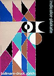 Diethelm Walter  - Indicolor Plakate