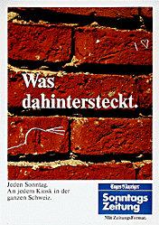 Gisler & Gisler / BBDO - Sonntags Zeitung