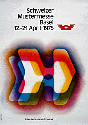 Haettenschweiler Walter F. - Mustermesse Basel