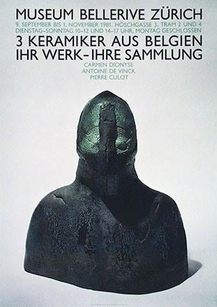 Gauch René - 3 Keramiker aus Belgien