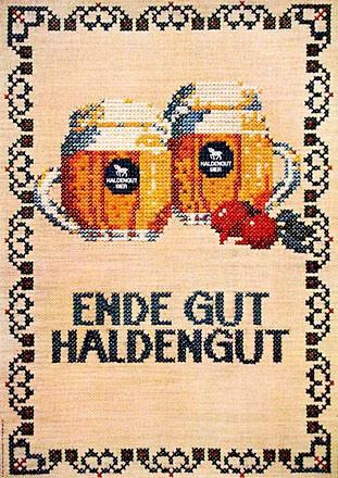Wirz Adolf Werbeberatung - Haldengut Bier