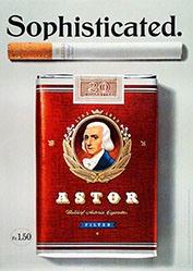 Burckhardt Dominik L. - Astor Cigaretten