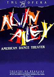 Pichou Dominique - Alvin Ailey - American dance theater