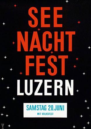 Monogramm Kru. - Seenachtfest Luzern