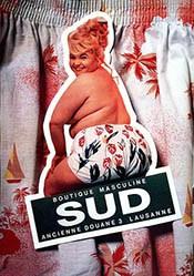 Lüscher / Bianchi Publicité - Boutique masculine Sud