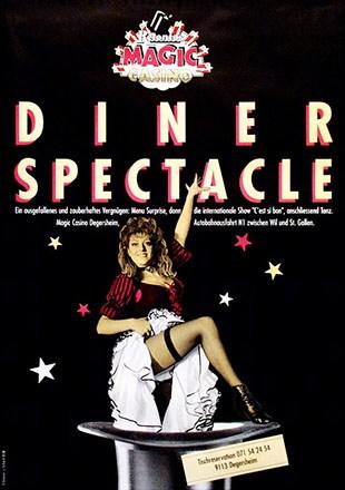 Ecknauer + Schoch - Dinner Spectacle
