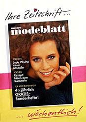 Anonym - Meyers Modeblatt