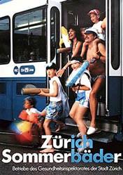 Anonym - Zürich Sommerbäder