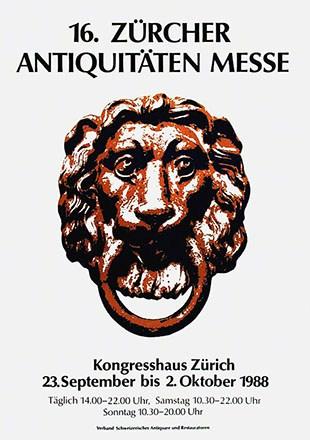 Anonym - 16. Zürcher Antiquitäten Messe